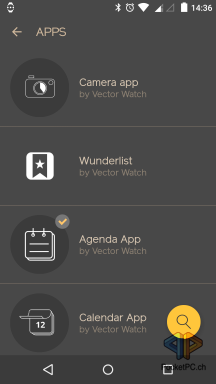 Vector Watch App