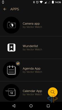 Vector Watch App