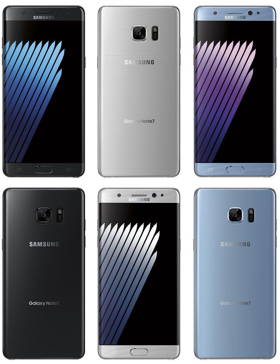 Galaxy Note 7 Press