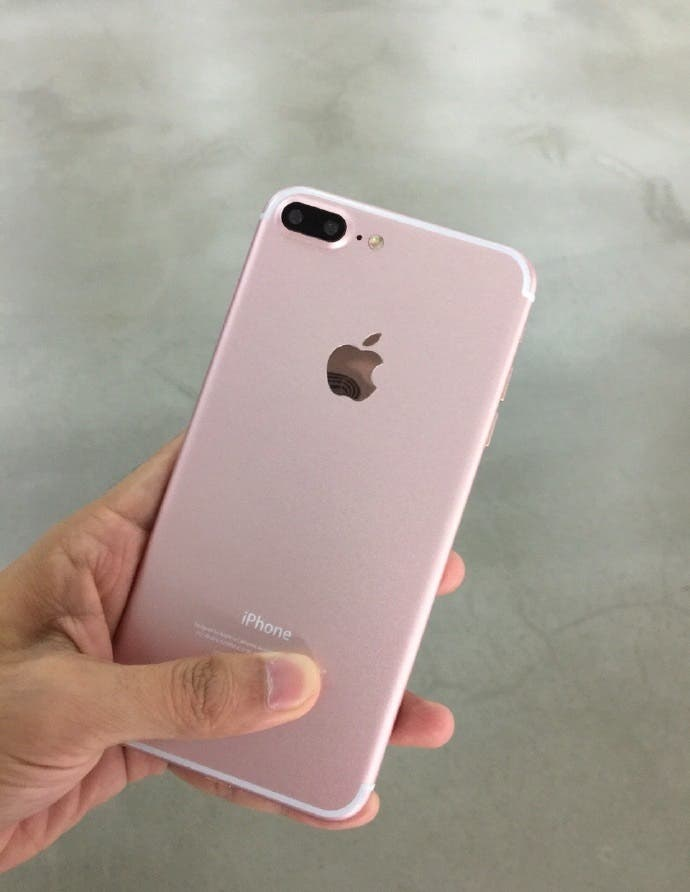 iPhone 7 Plus Rosegold