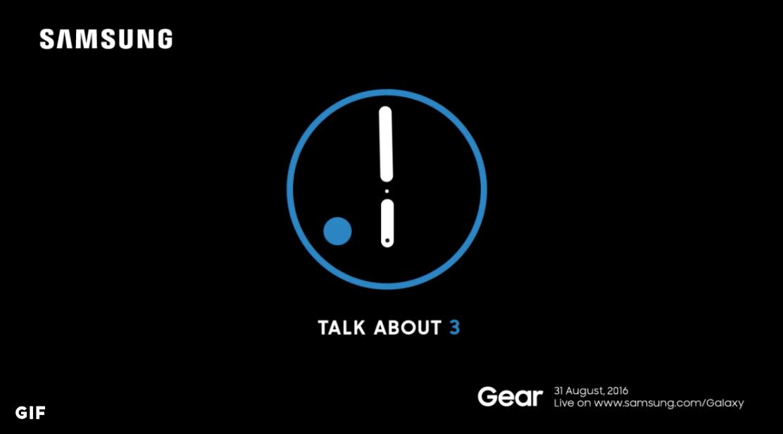 Gear S3 Teaser