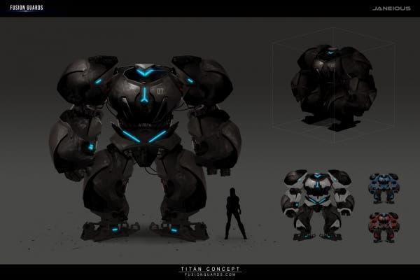 Fusion Guard Titan Concept