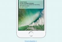 iOS 10 Lockscreen