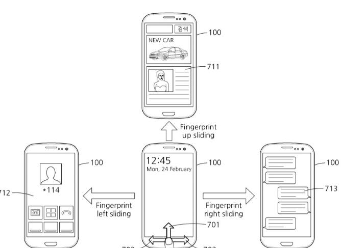 Galaxy S8: Samsung-Patent enthüllt Gestensteuerung per