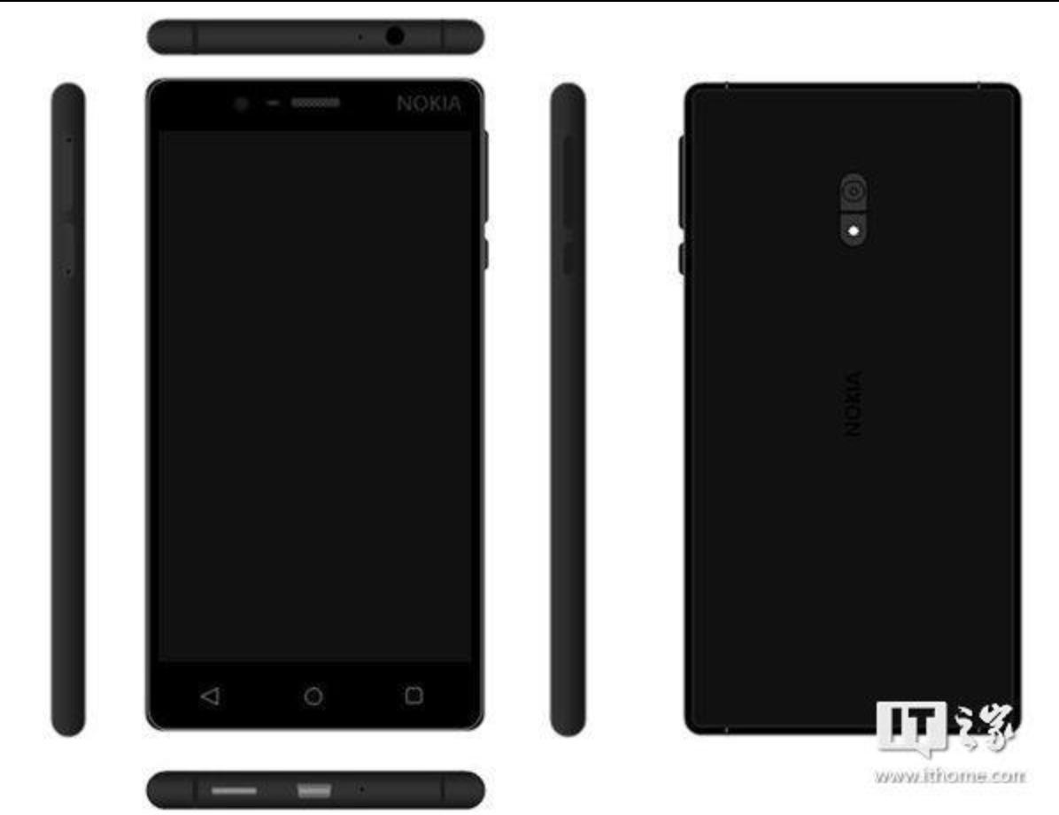 Nokia D1C Rendeing