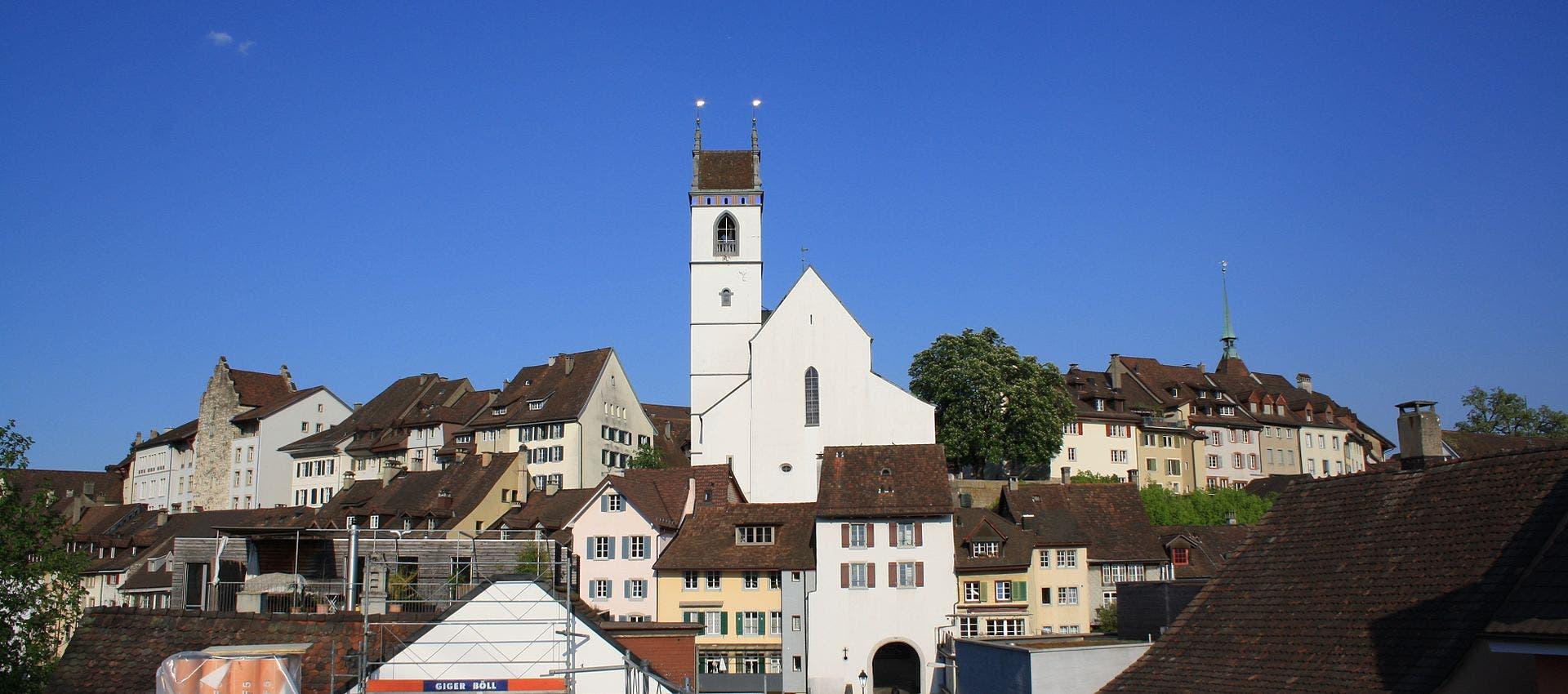 Aarau Altstat Kirche Lutz Fischer-Lamprecht. cc-by-sa-4.0