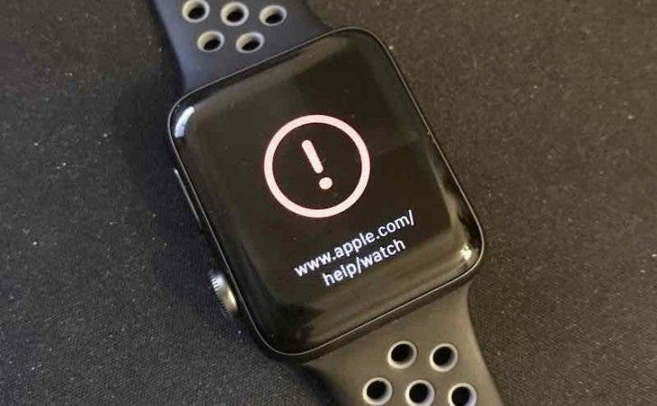 Apple Watch Series 2 watchOS 3.1.1 Brick