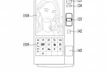 LG Patent faltbares Display
