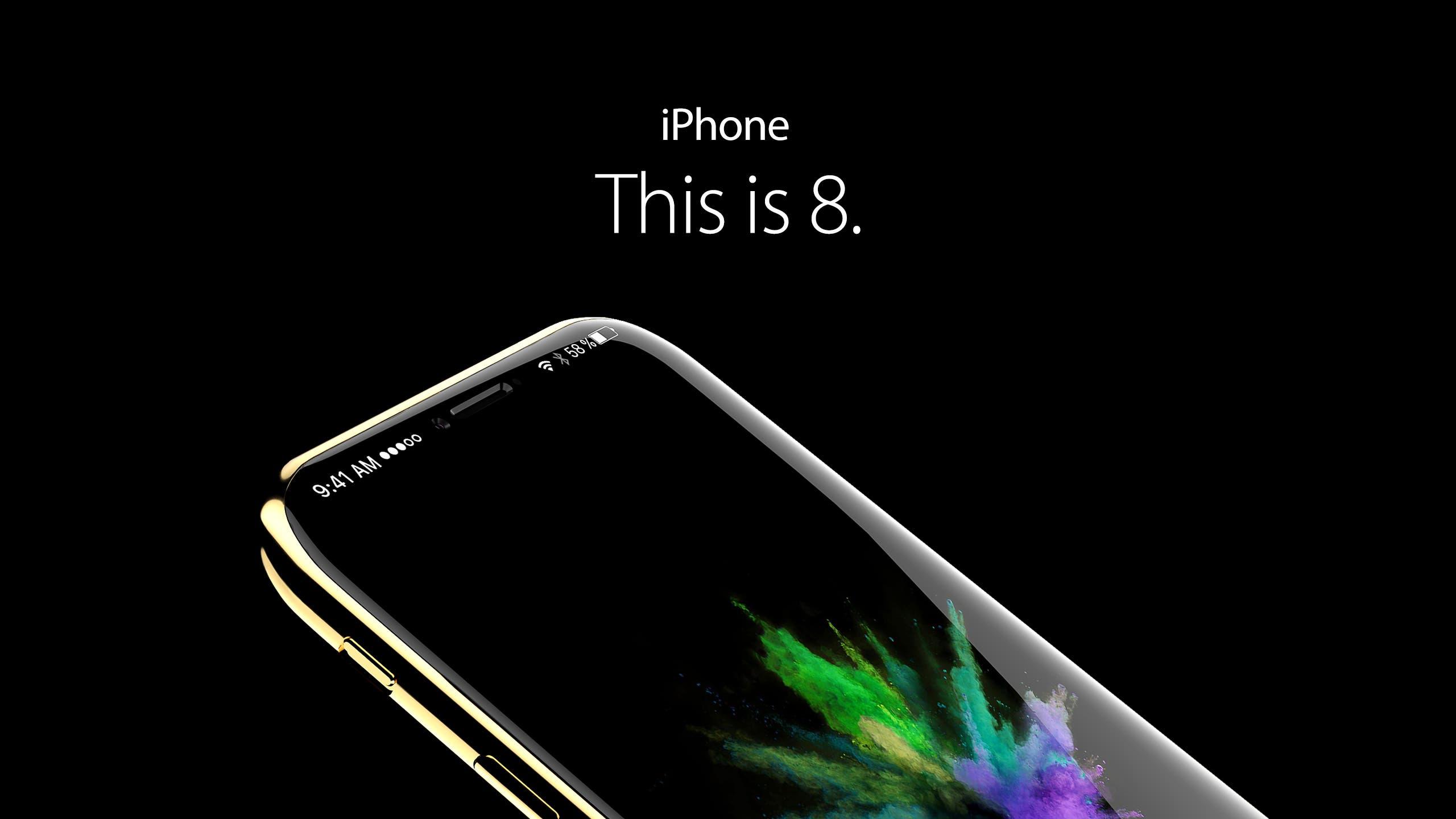 iPhone 8 Concept