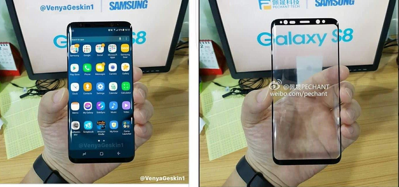 Galaxy S8 Render Leak