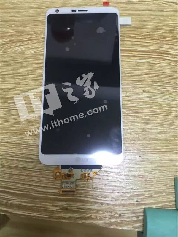 LG G6 Leak Frontpanel