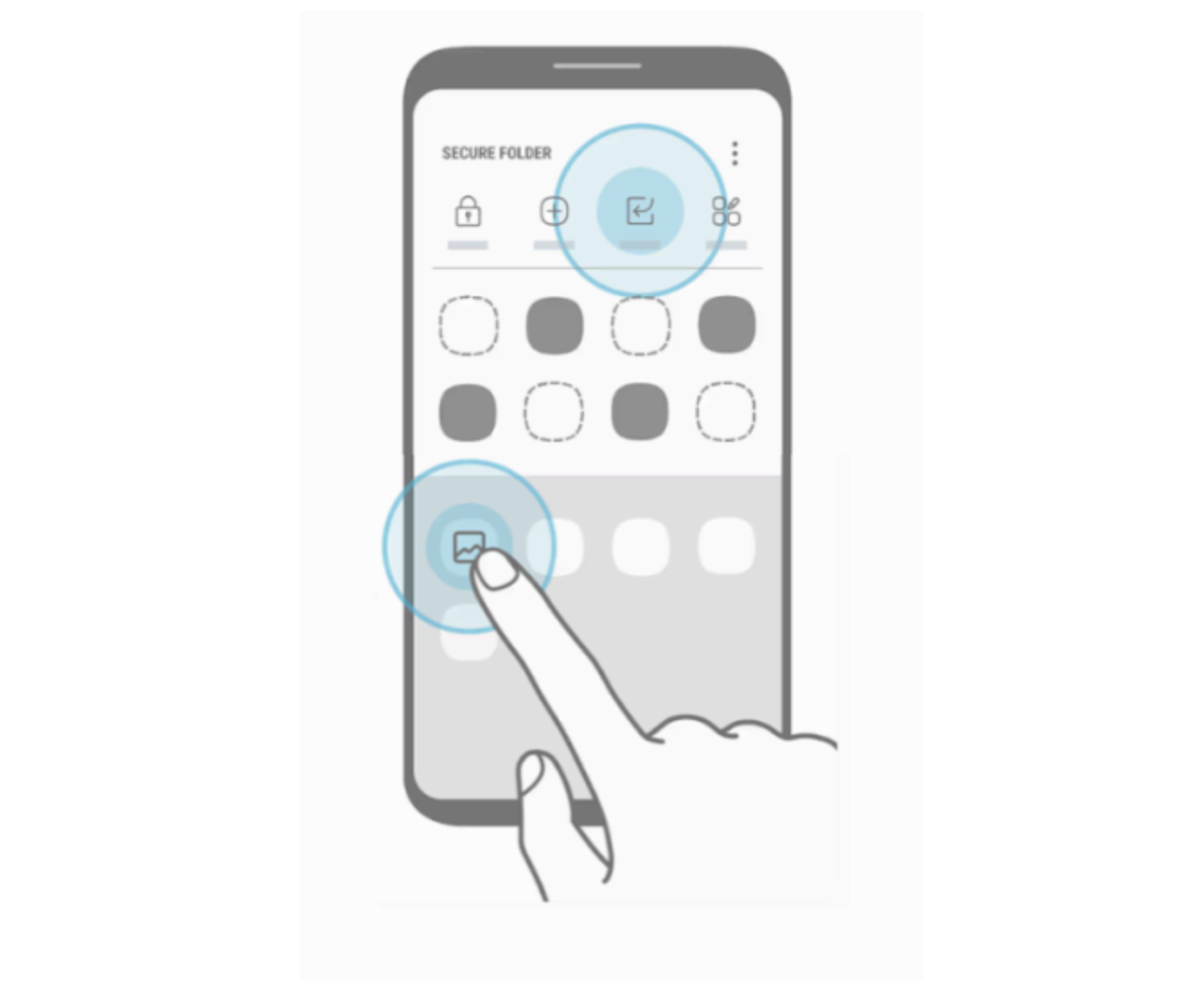 Secure Folder Galaxy S8 Leak