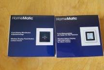Review: HomeMatic Funk-Display-Wandtaster und Funk-Statusanzeige mit E-Paper-Display im Vergleich