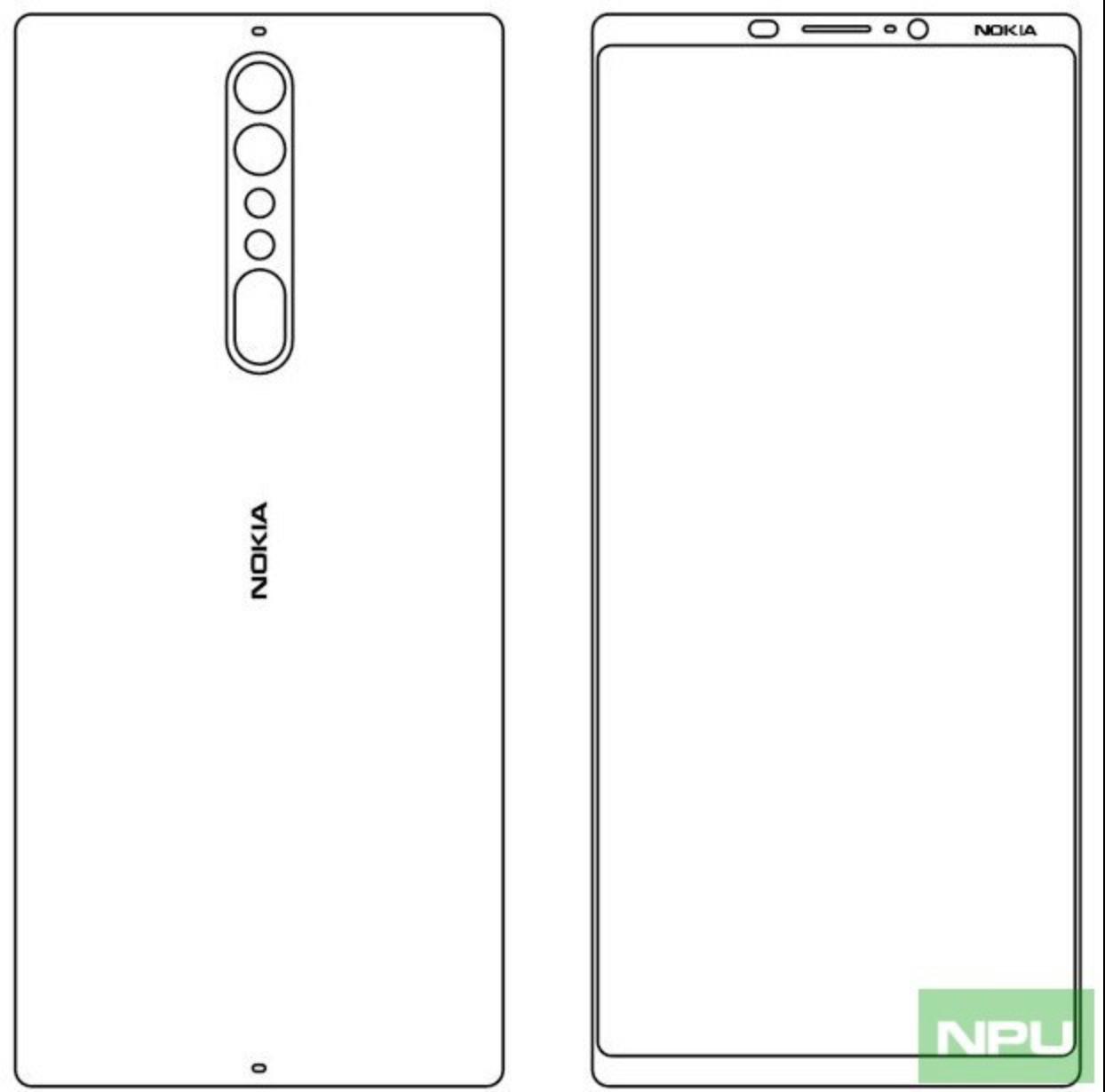 Nokia 9 Zeichnung