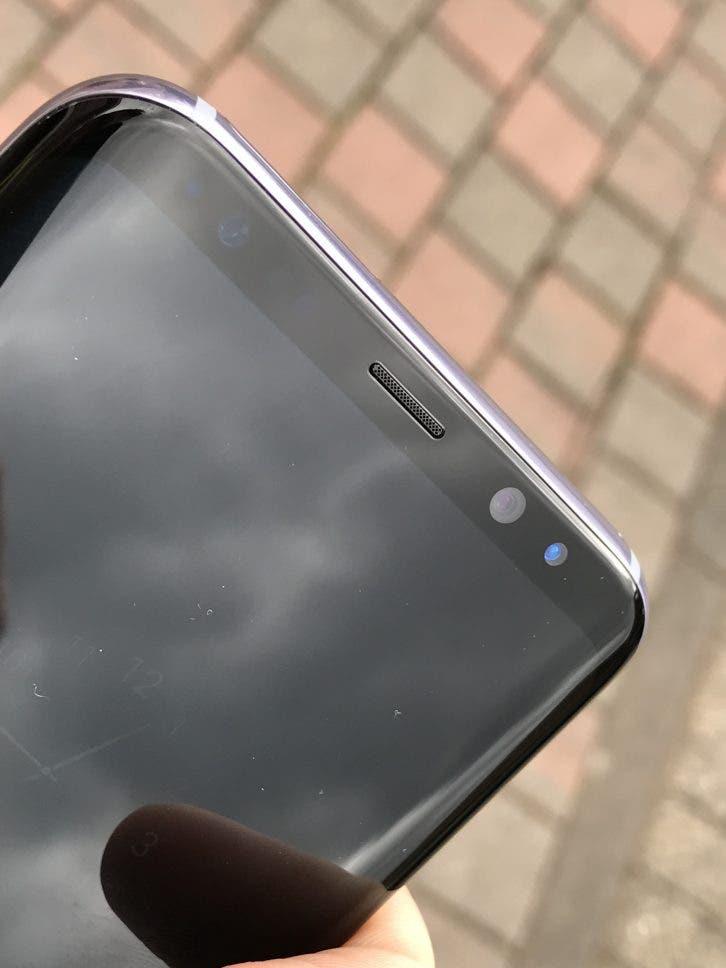 Galaxy S8 Plus Scanner