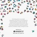 Apple WWDC 2017 Einladung