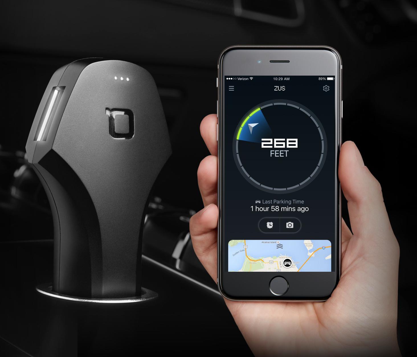 ZUS Smart Car Charger Press