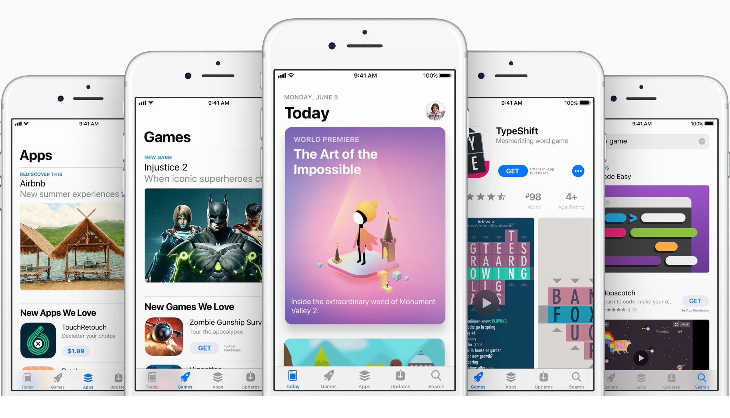 Apple iOS 11 App Store