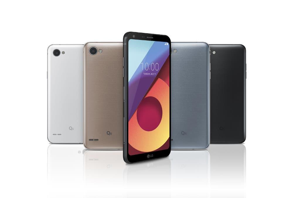 LG Q6 Colors