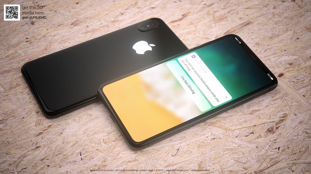 iPhone 8 Konzept Martin Hajek