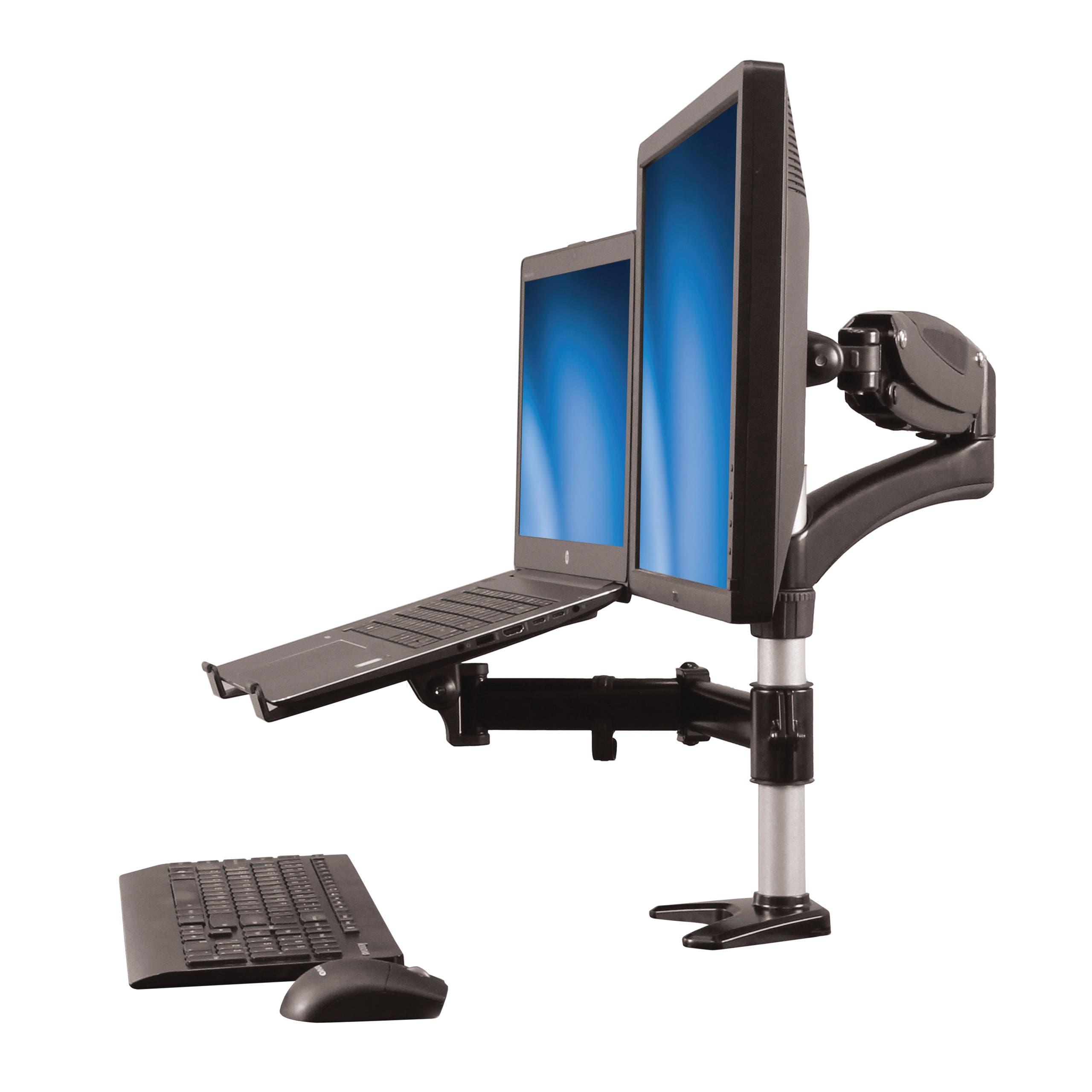 Review: Monitorarm von StarTech.com mit praktischem Laptop-Halter im Test