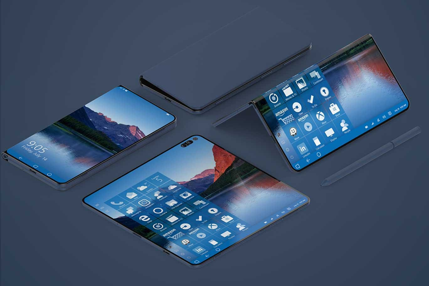 Surface Phone Concept by Ryan Smalley