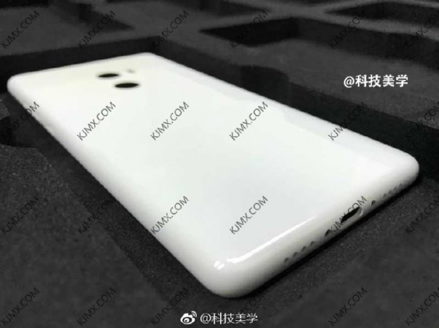 Xiaomi Mi Mix 2 Back Leak?