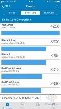 Screenshot iPhone 8 Plus