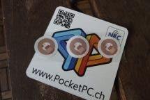 NFC Sicherheitssticker
