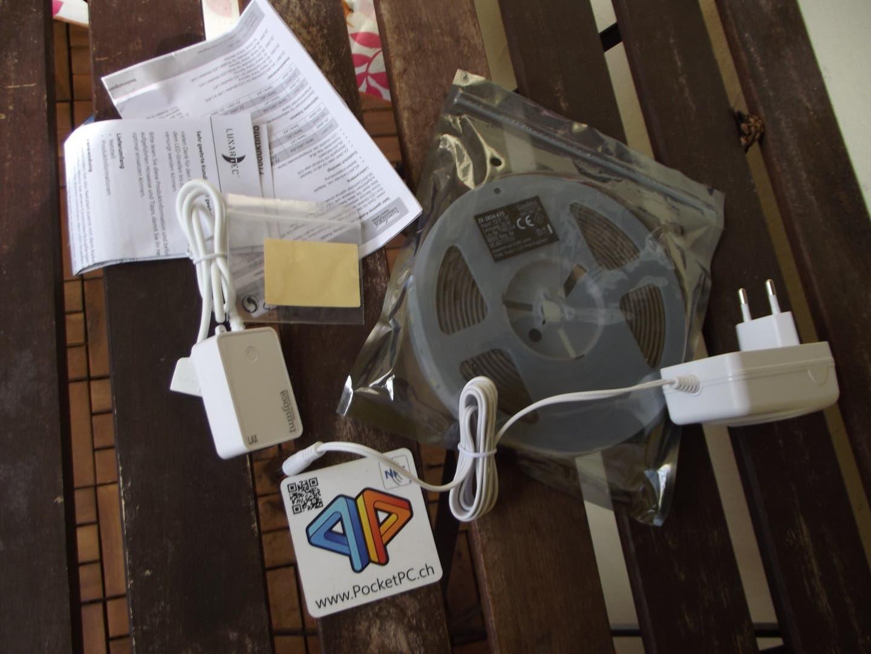 Review: PEARL Luminea WLAN-LED-Streifen RGBW im Test - PocketPC.ch