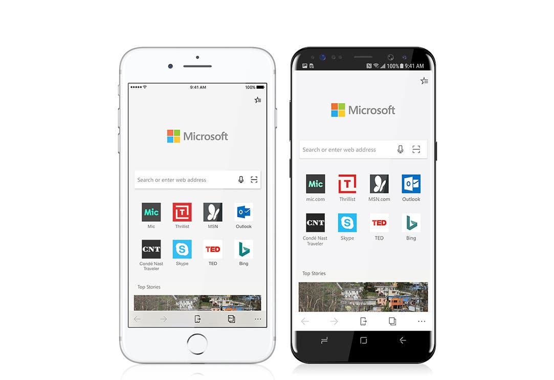 Microsoft Edge Mobile Beta