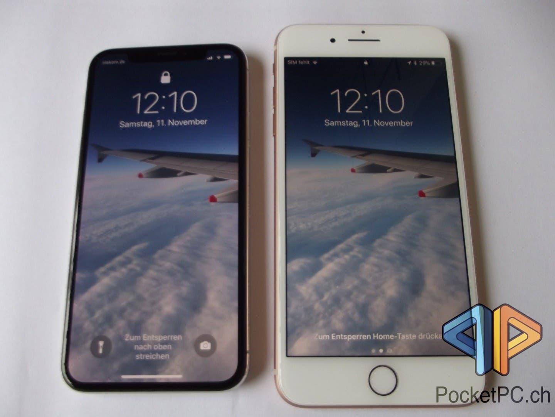 Apple iPhone X vs iPhone 8 Plus