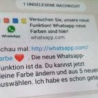 WhatsApp Fake Nachricht