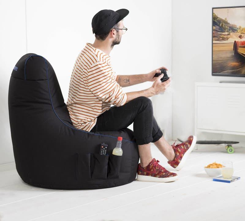 Gaming Sitzsack Modell Arctic Blizzard