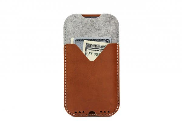Pack & Smooch iPhone X Wallet Case Kirkby