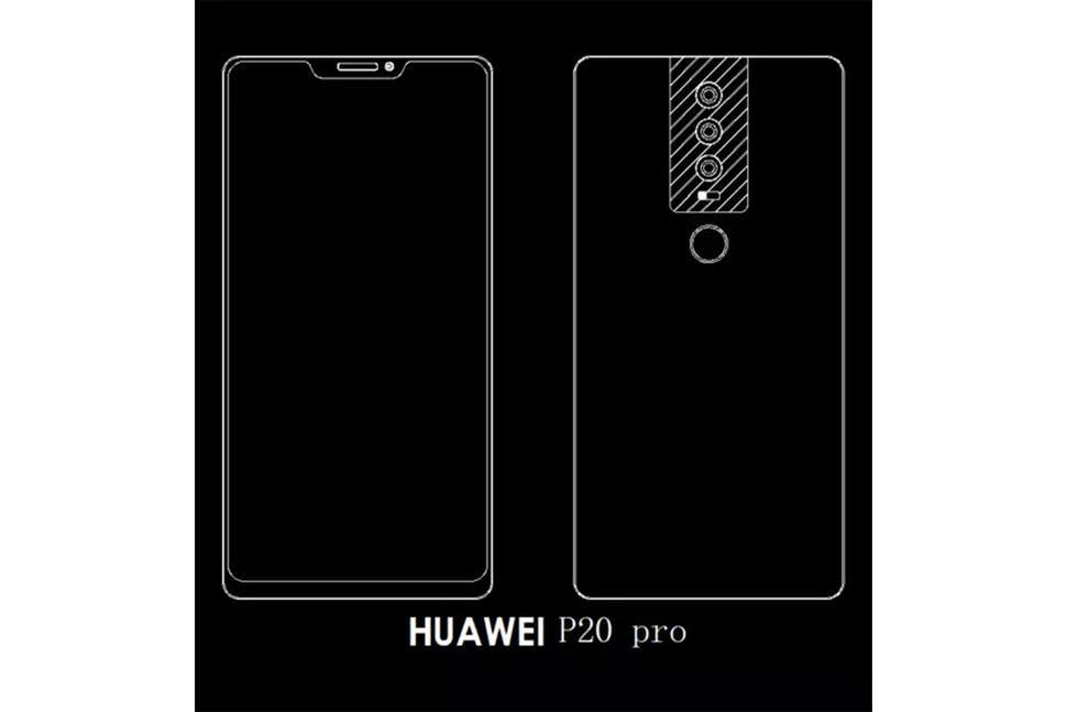 Huawei P20 Pro Schema Leak