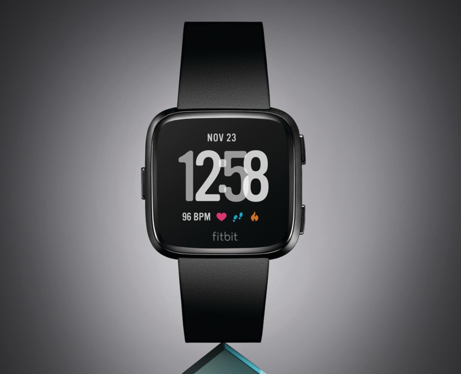 fitbit versa neue smartwatch offiziell vorgestellt. Black Bedroom Furniture Sets. Home Design Ideas