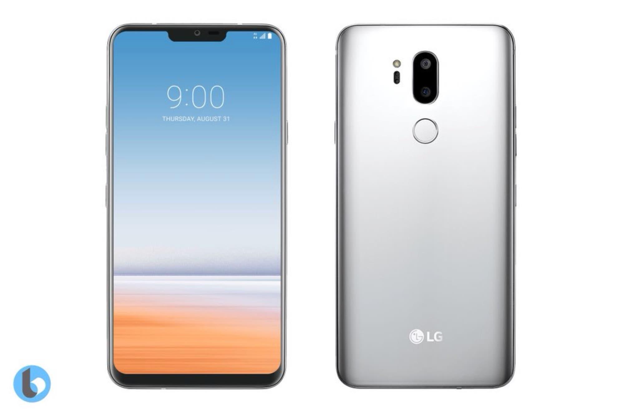 LG G7 Rendering