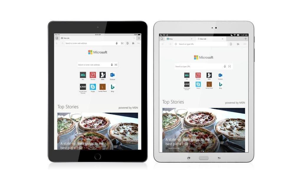 Microsoft bringt Browser Edge aufs iPad