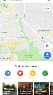 Google Maps Update Material Design