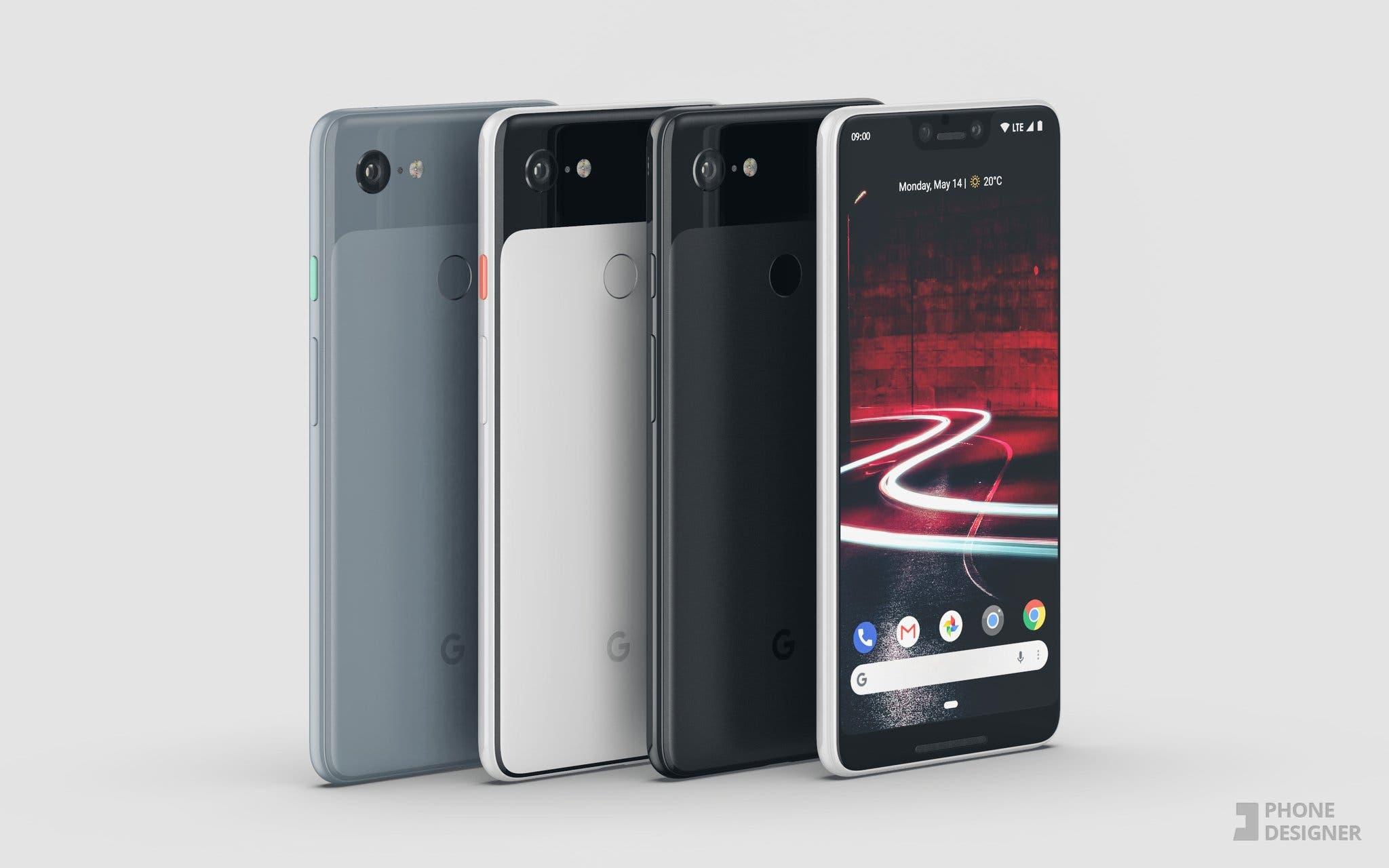 Google Pixel 3 XL by Phone Designer