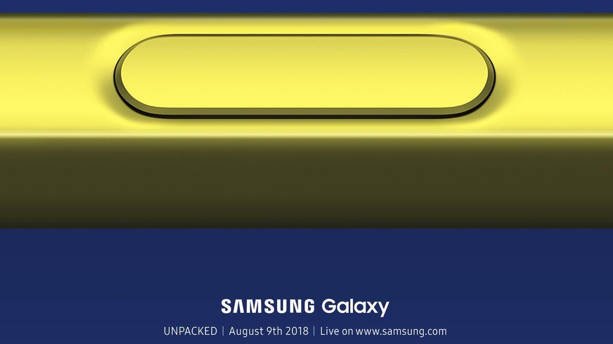 Galaxy Note9 wird Anfang August vorgestellt