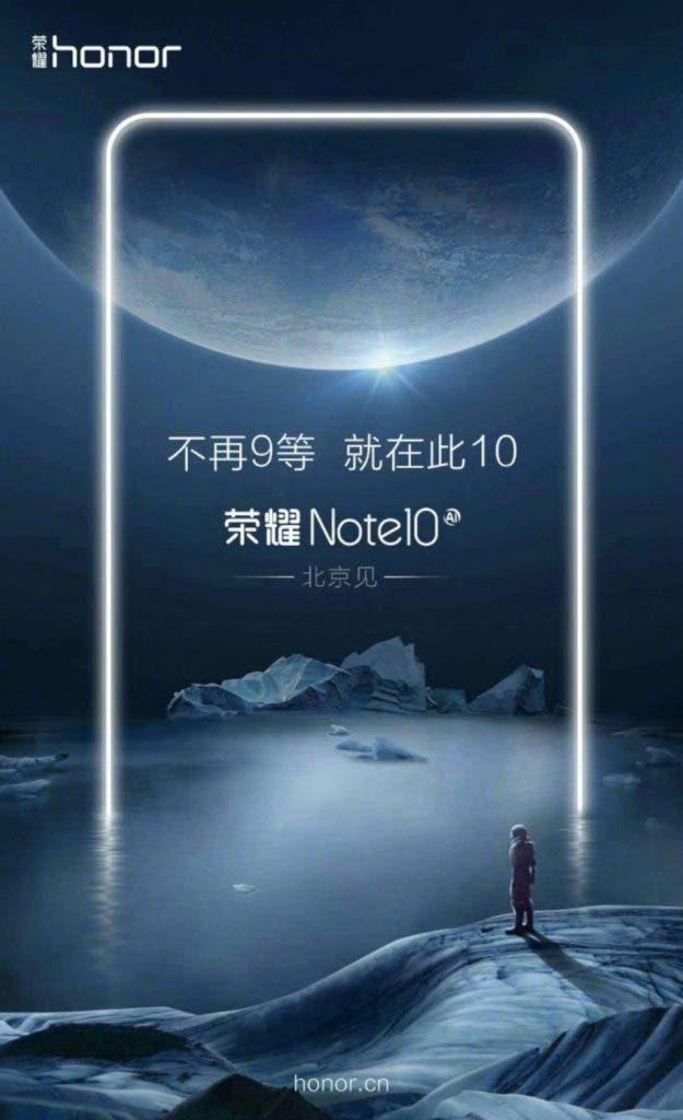 Honor Note 10 AI Teaser