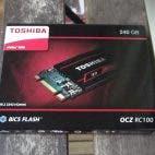 Toshiba OCZ RC100 NVMe SSD