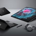 Surface Laptop 2, Studio 2, Headphones und Pro 6