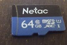 Netac 64 GB SDXC Pro Detailansicht