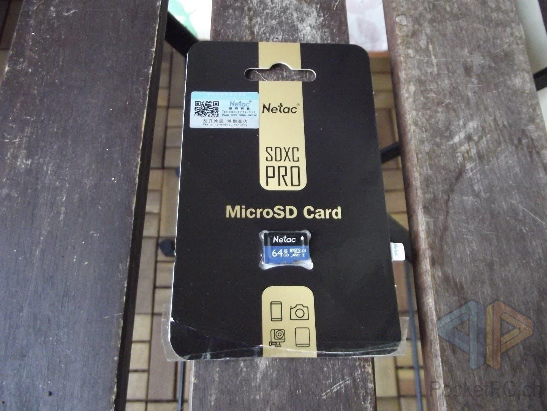 Netac 64 GB SDXC Pro microSD Karte