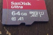 SanDisk Ultra SDXC 64 GB Detailansicht