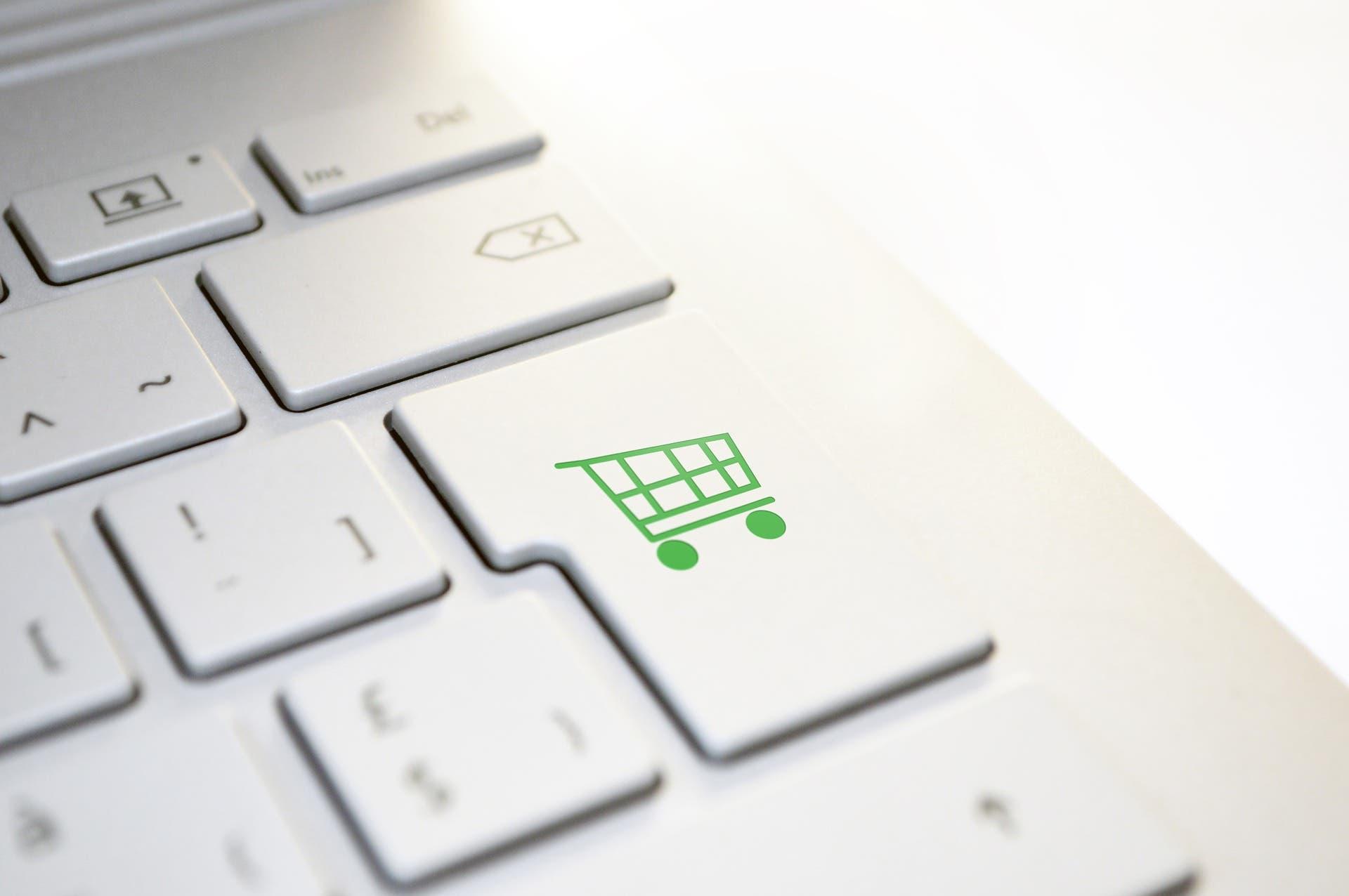 Online Shopping Tastatur