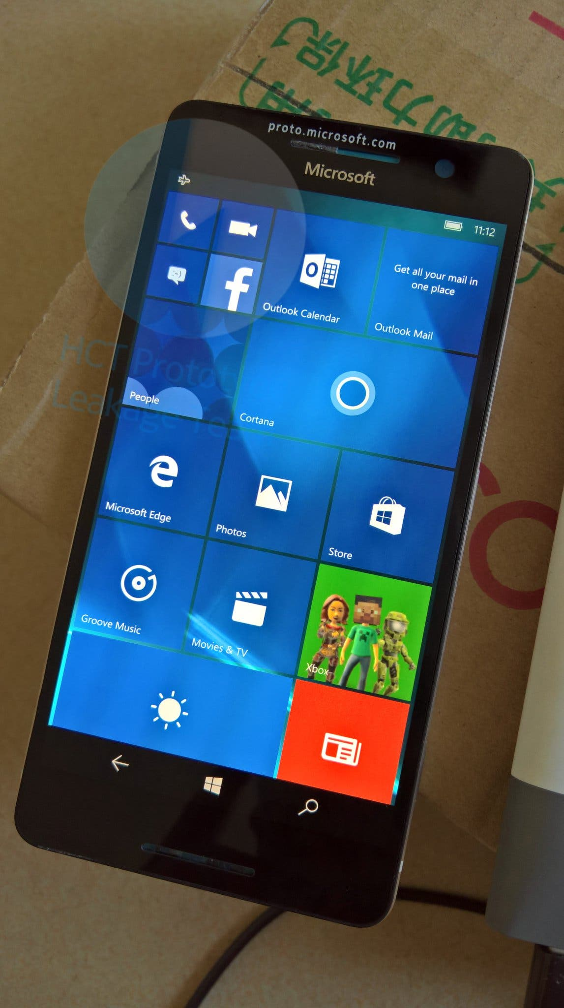 Nokia Lumia 960 Northstar Lumia-RM-1162 Prototyp